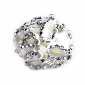 Heels Diva Morning Flower Shoe Clip - White