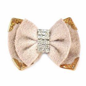 Heels Diva Lady Mae Shoe Clip - Beige