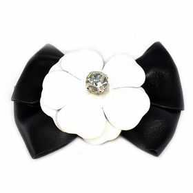 Heels Diva Sunday Bloom Shoe Clip - Black