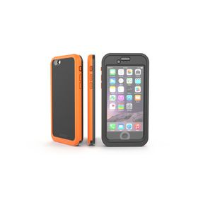 Dog and Bone Wetsuit Impact for the Apple iPhone 6S - Electric Orange