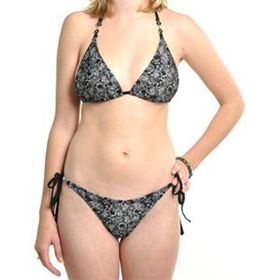 Iron Fist Barrio Muertos String Bikini Set