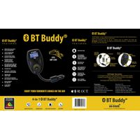 On-Track BT Buddy Bluetooth 4-in-1 FM Modulator