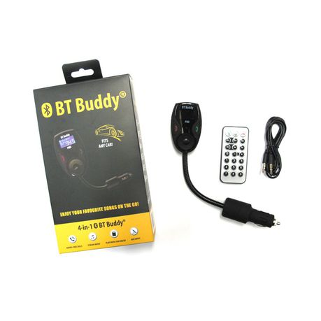 On-Track BT Buddy Bluetooth 4-in-1 FM Modulator | Buy Online