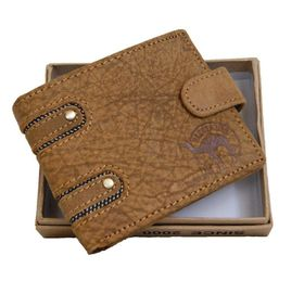 Fino Genuine Leather Wallet - Brown (DWS8307C)