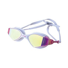 FINIS Voltage Goggles - White & Pink Mirror