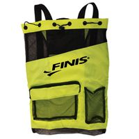 FINIS Ultra Mesh Backpack - Acid Green & Black