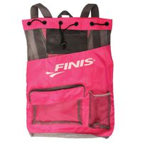 FINIS Ultra Mesh Backpack - Hot Pink & Gray