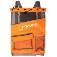 FINIS Ultra Mesh Backpack - Neon Orange & Gray