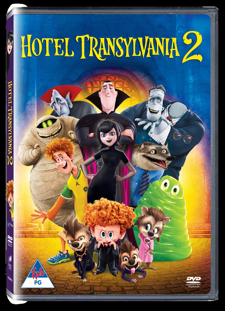 Hotel Transylvania 2 DVD Loading Zoom