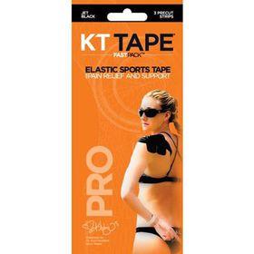 KT Tape Synthetic Pro FastPack Strips - Black