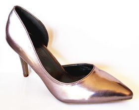 Lavanda Open Waisted Heel In Pewter Lyyl08-2