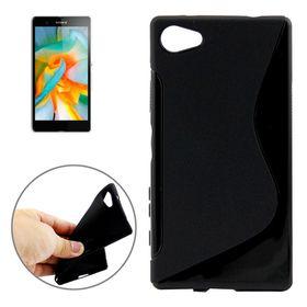 Tuff-Luv TPU Gel Case for Sony Xperia Z5 Compact/Mini - Black