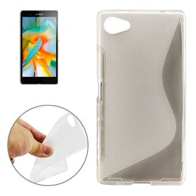 Tuff-Luv TPU Gel Case for Sony Xperia Z5 Compact/Mini - Clear