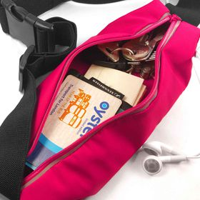 Tuff-Luv Waterproof Sports Runners Waist Bag Pouch for iPhone 6s Plus - Pink
