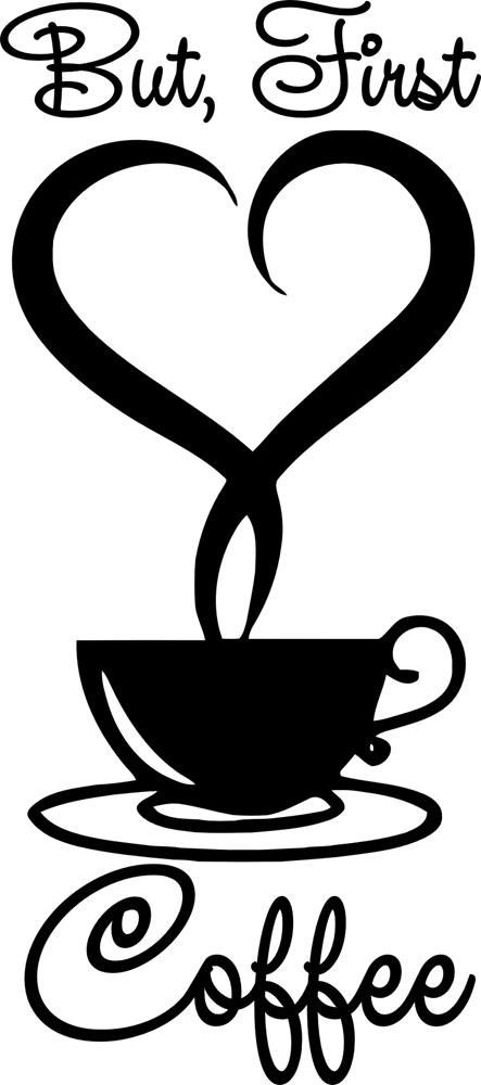 But First Coffee Mug Black
