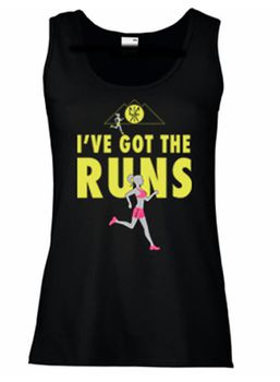 SweetFit Ladies I've Got the Runs Vest