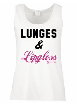 SweetFit Ladies Lunges and Lipgloss Vest
