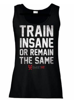 SweetFit Ladies Train Insane Vest
