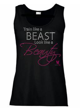 SweetFit Ladies Train Like a Beast Vest