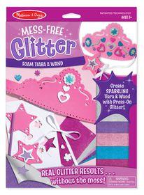 Melissa & Doug Foam Wand and Tiara Mess Free Glitter