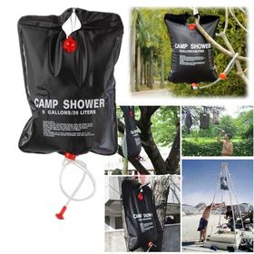 Shower Bag 20l solar heated portable camping shower bag | buy online in south
