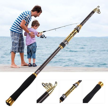 2 1M Pro Portable Telescopic Fishing Rod | Buy Online in