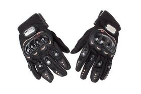 Pro-biker Motocross Racing Gloves - Black (Size: X-Large)