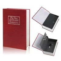 Small Book Safe - Red