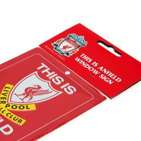 Liverpool F.C. This is Anfield Window Sign