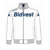 Bidvest Wits FC Jacket White & Blue