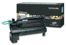 Lexmark X792X1KG Black Extra High Yield Return Program Print Cartridge