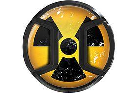 Kaiser Snap On Lens Cap Nuclear 58mm