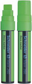 Schneider Maxx 260 Deco Marker - Light Green