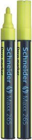 Schneider Maxx 265 Deco Marker - Yellow