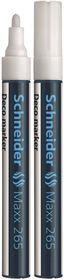 Schneider Maxx 265 Deco Marker - White