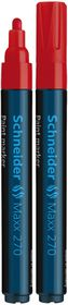 Schneider Maxx 270 Paint Marker - Red