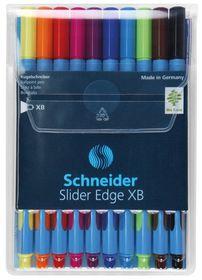 Schneider Slider Edge XB Ballpoint Pens - Wallet of 10