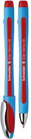 Schneider Slider Memo XB Ballpoint Pen - Red Ink