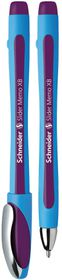 Schneider Slider Memo XB Ballpoint Pen - Violet Ink