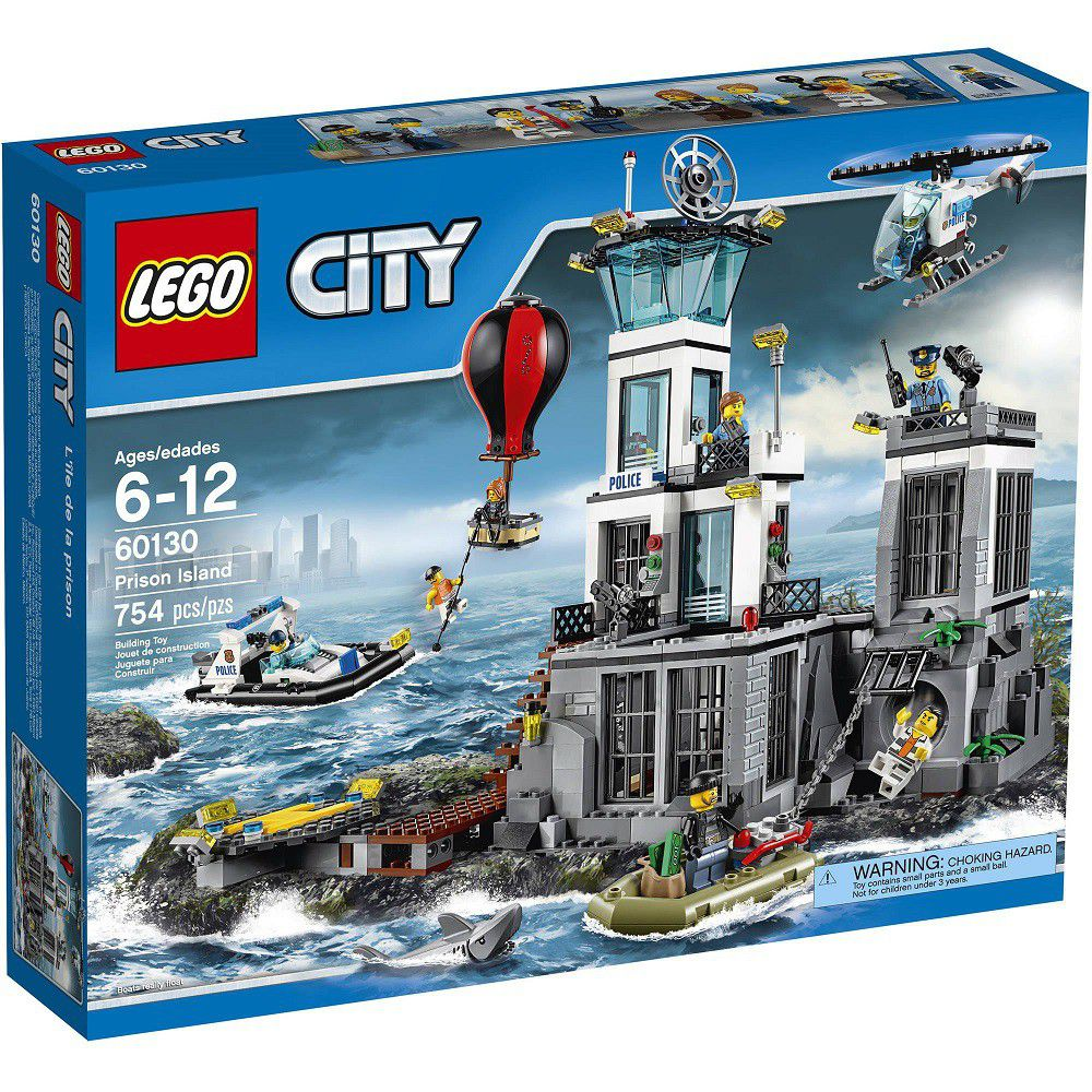 lego city lego city police prison island buy online in south africa. Black Bedroom Furniture Sets. Home Design Ideas