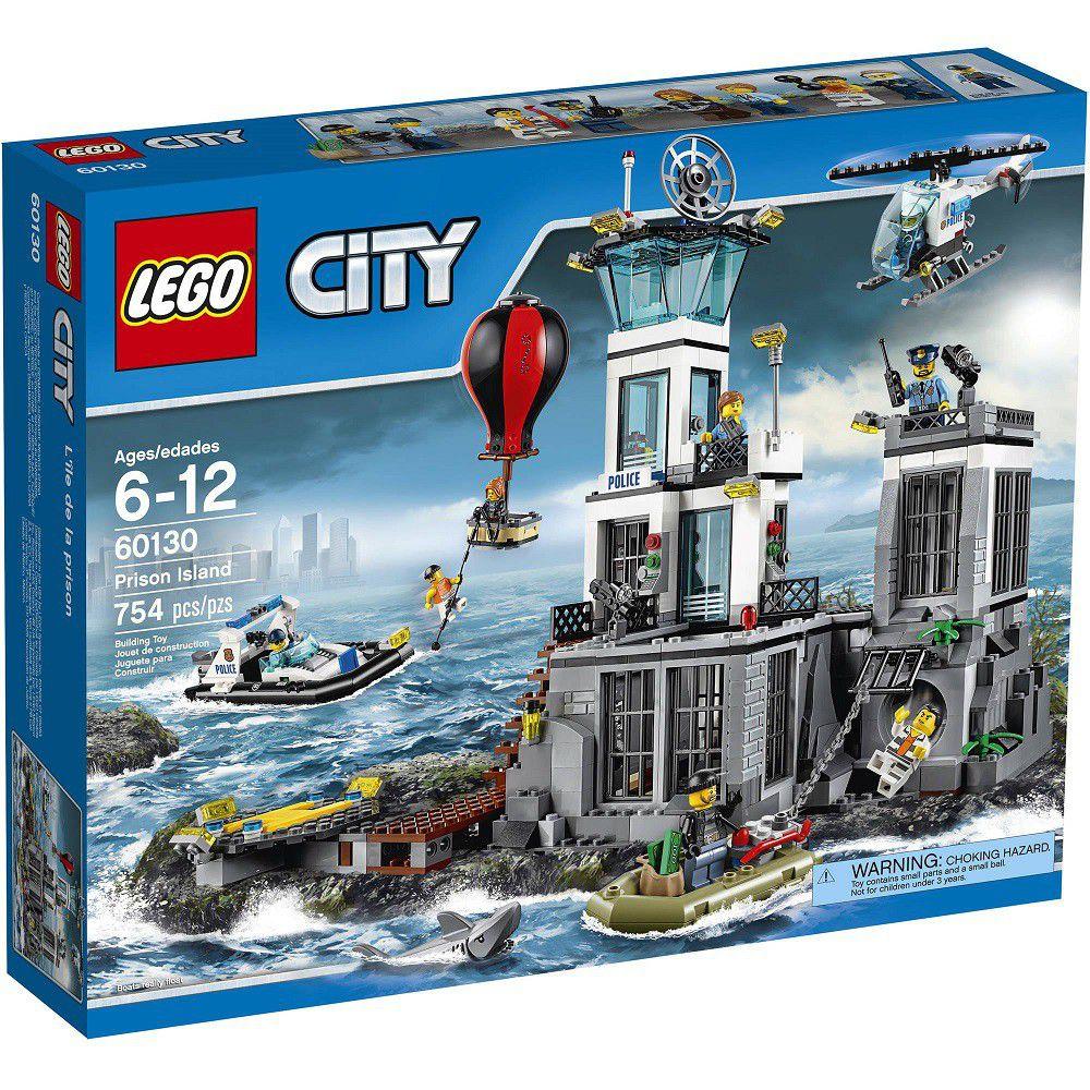 lego city police prison island - Lgo City Police