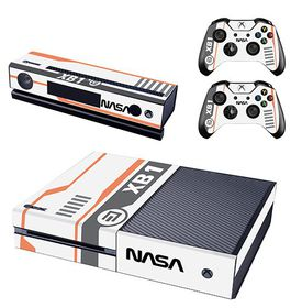 Skin-Nit Decal Skin for Xbox One: Nasa Spaceship Edition