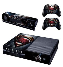 Skin-Nit Decal Skin for Xbox One: Superman Man Of Steel