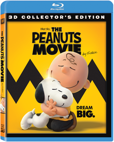 The Peanuts Movie (3D Blu-ray)