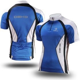 Deko Tethys Air Cycling Jersey - Blue and White