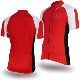 Deko Phobos Cycling Jersey - Red and White