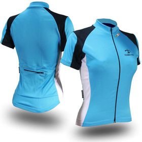Deko Carme Cycling Jersey - Blue and White
