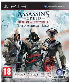 Assassins Creed The American Saga - 3 + 4 + Liberation (PS3)