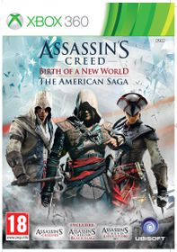 Assassins Creed The American Saga - 3 + 4 + Liberation (Xbox 360)