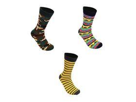 Undeez Mens Camo & Tribal Socks (3 pack)